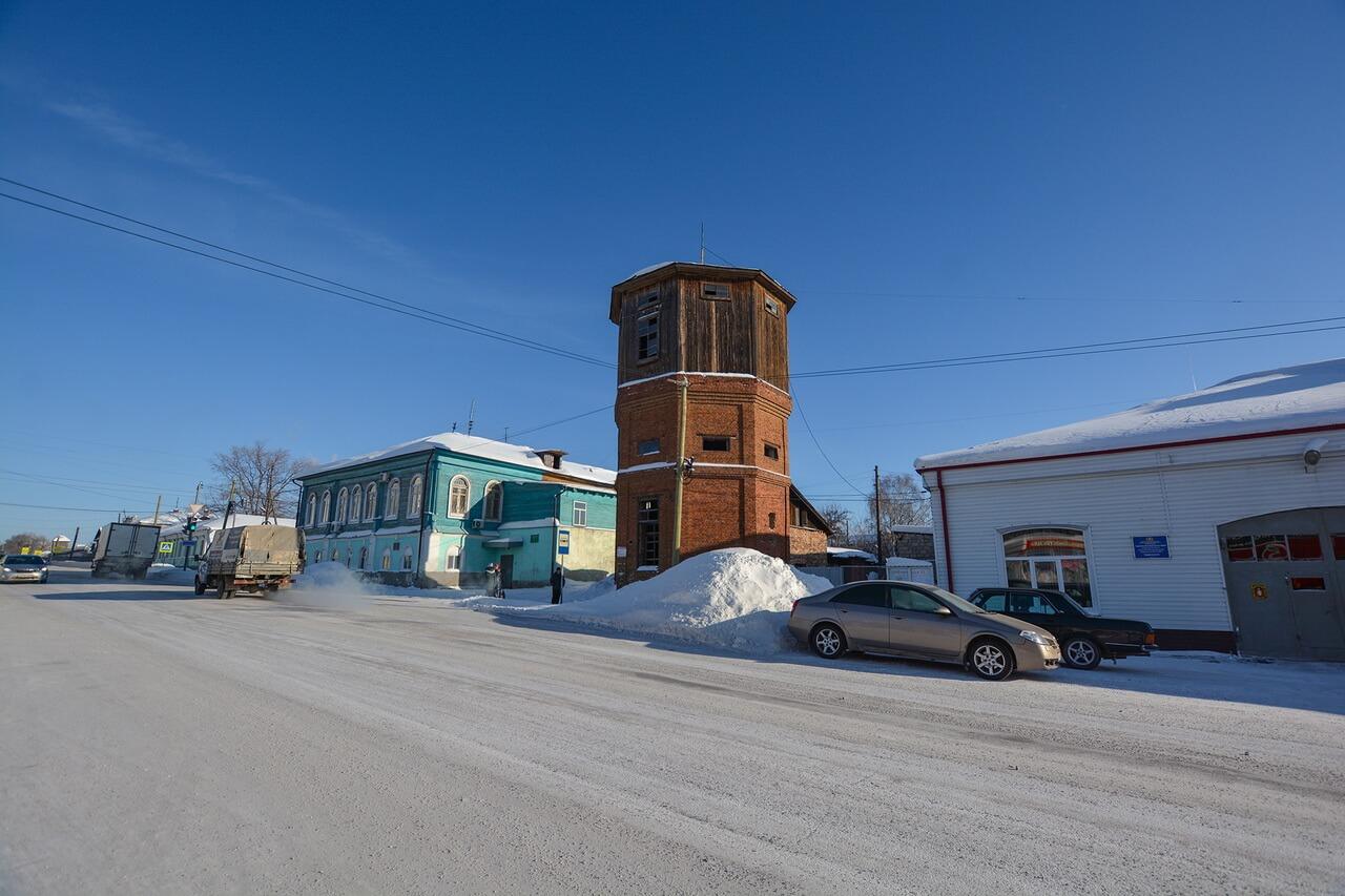 Здание бывшей городской управы, Камышлов, Свердловская область