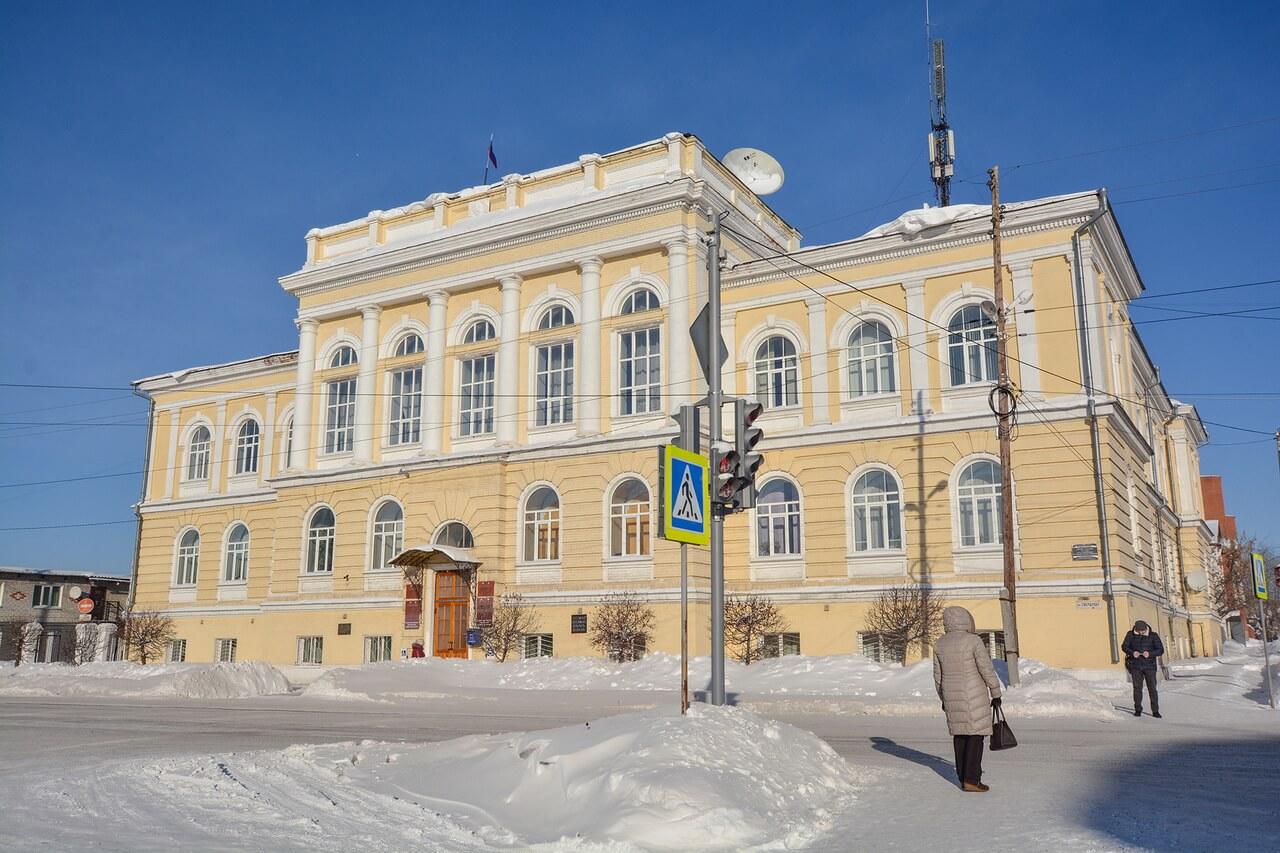 Здание администрации, Камышлов, Свердловская область