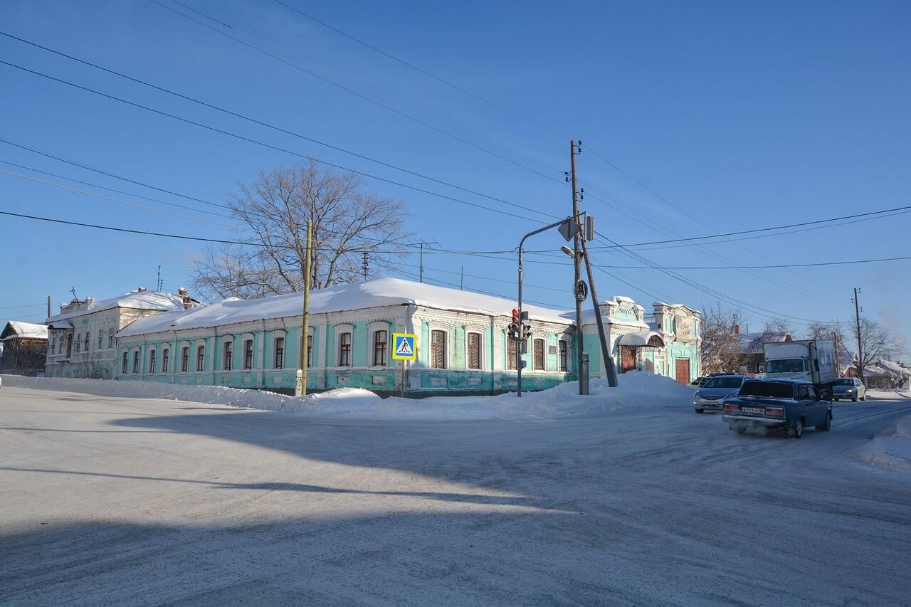 Здание бывшей земской управы, Камышлов, Свердловская область