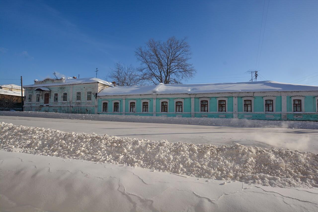 Здание бывшей центральной земской аптеки, Камышлов, Свердловская область