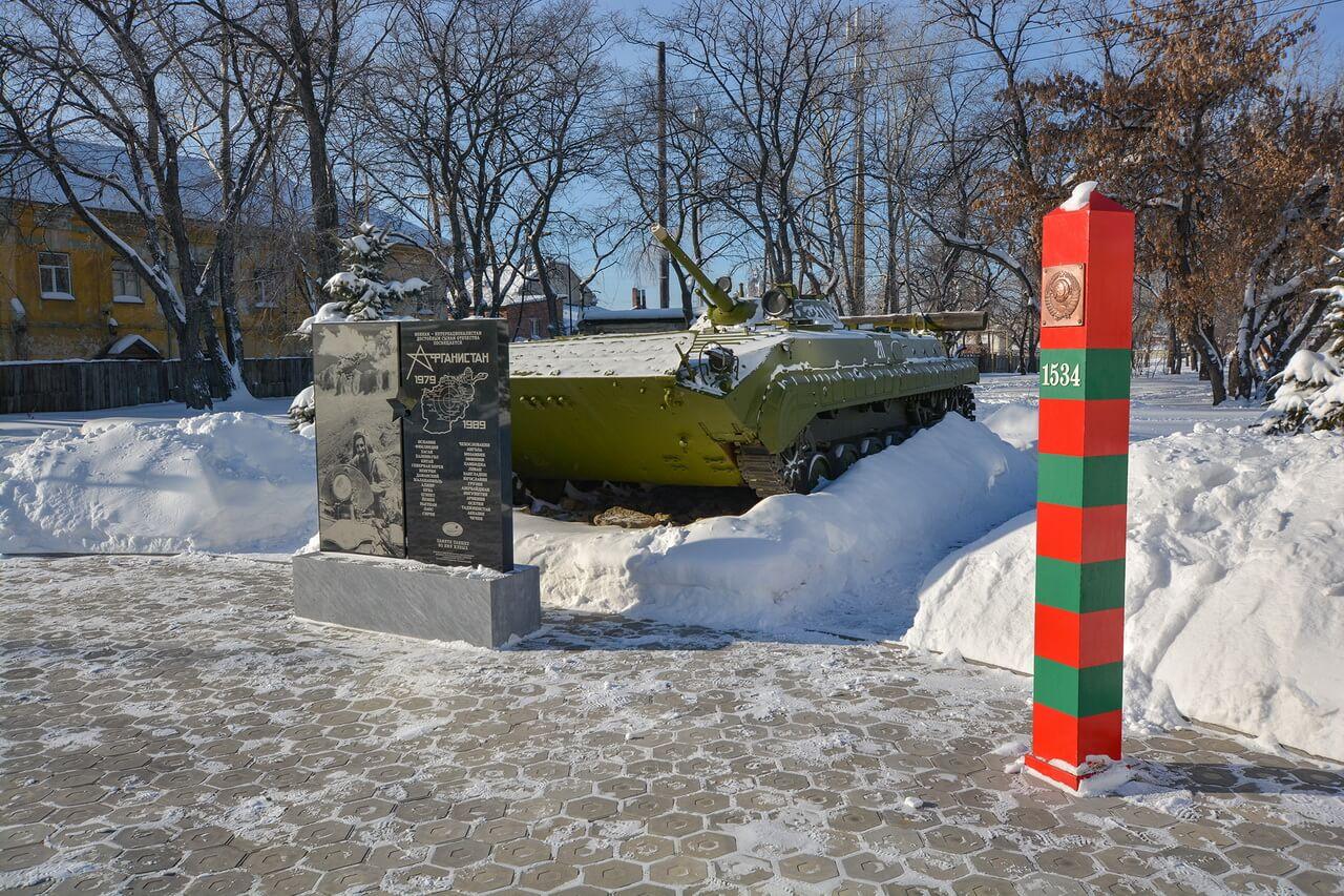 Памятник воинам в локальных конфликтах, Камышлов, Свердловская область
