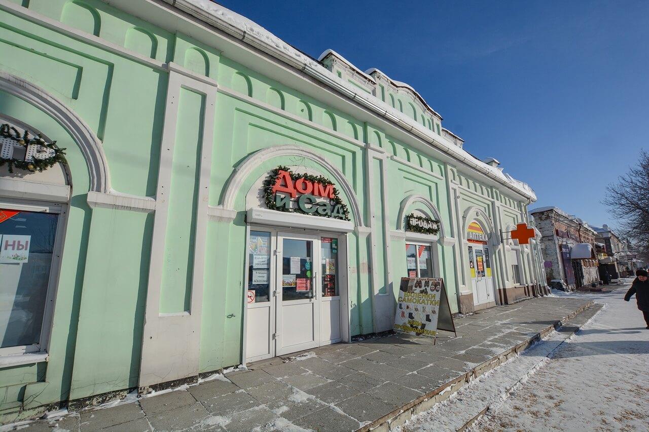 Торговое здание купчихи Кутьиной, Камышлов, Свердловская область