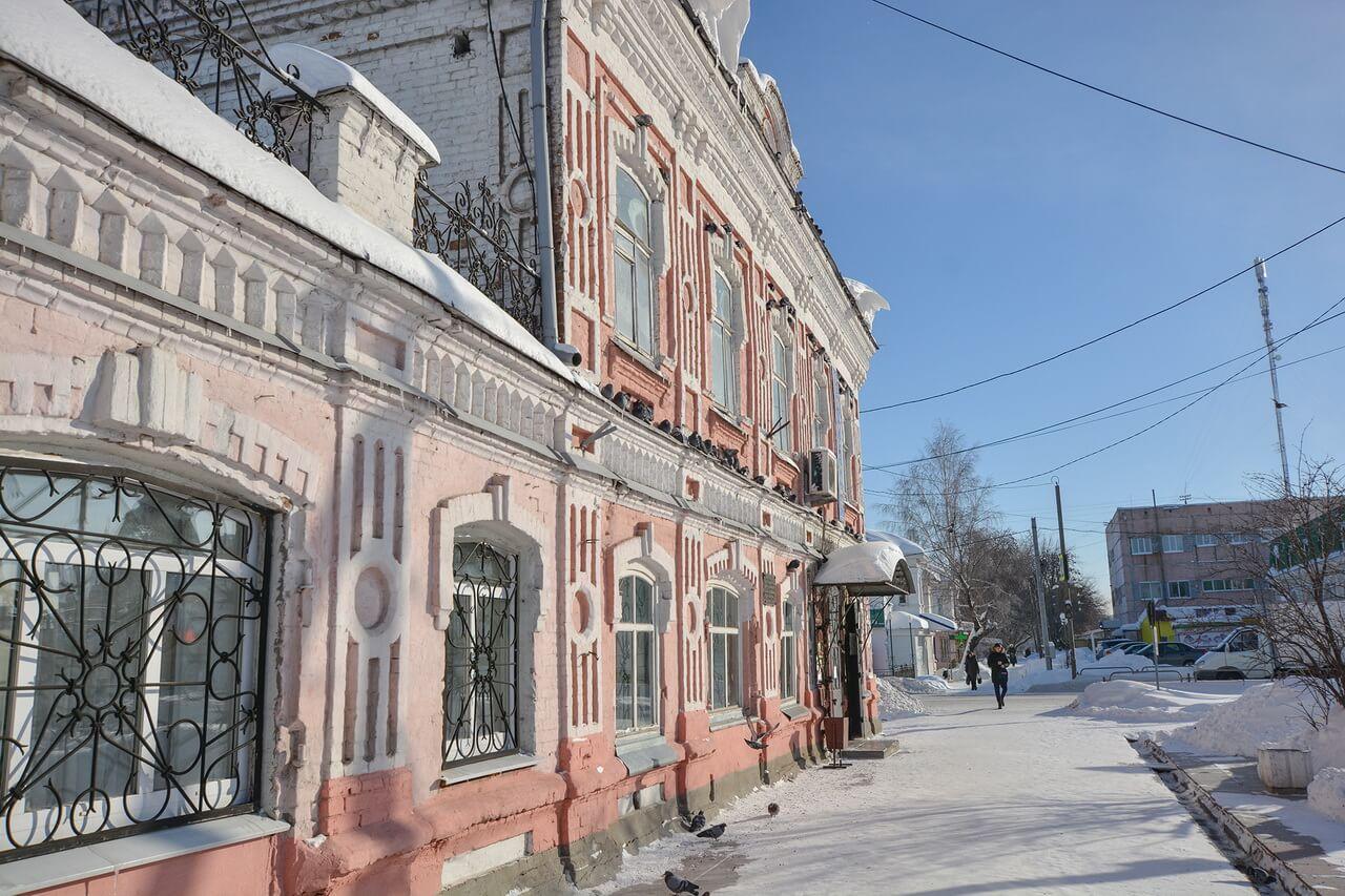 Усадьба купца Терентьева, Камышлов, Свердловская область