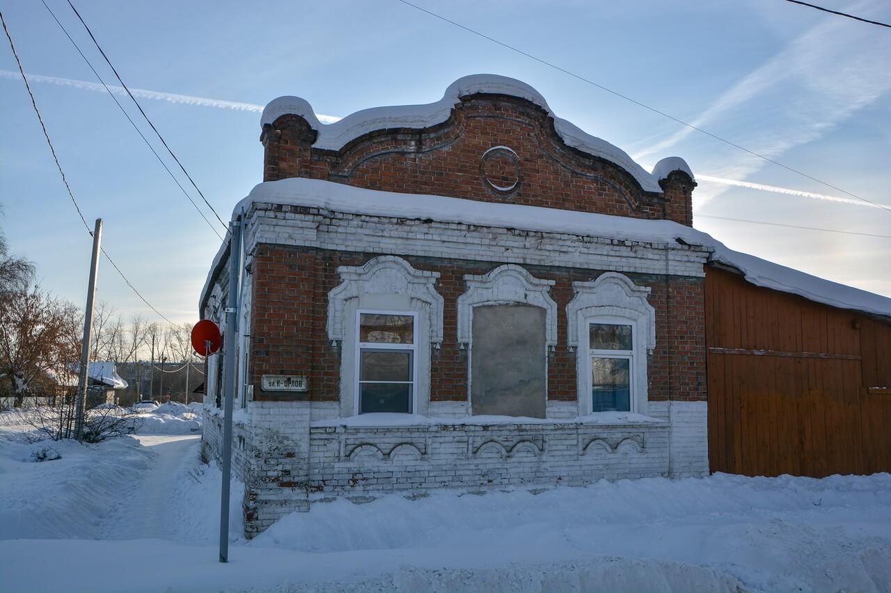 Характерная застройка Камышлова, Камышлов, Свердловская область