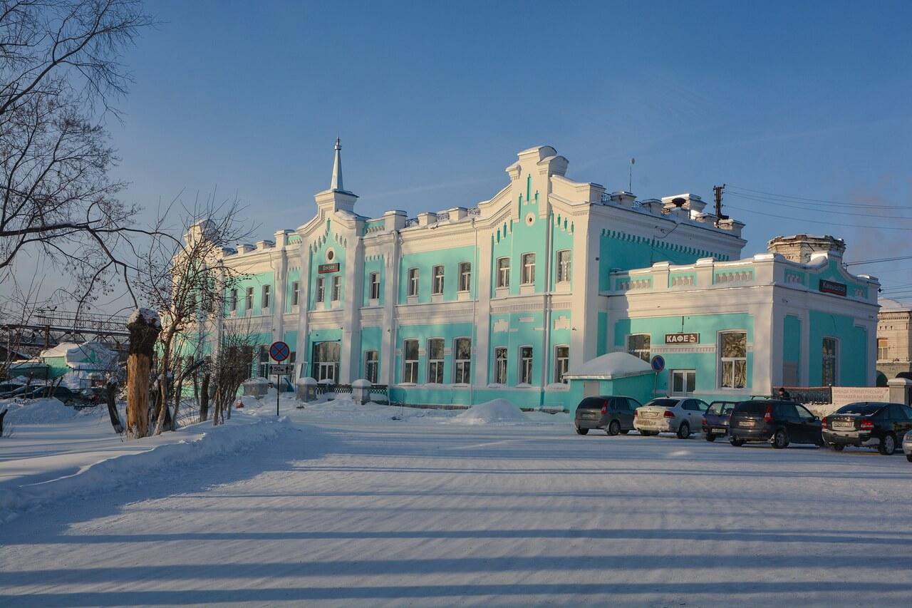Здание железнодорожного вокзала, Камышлов, Свердловская область