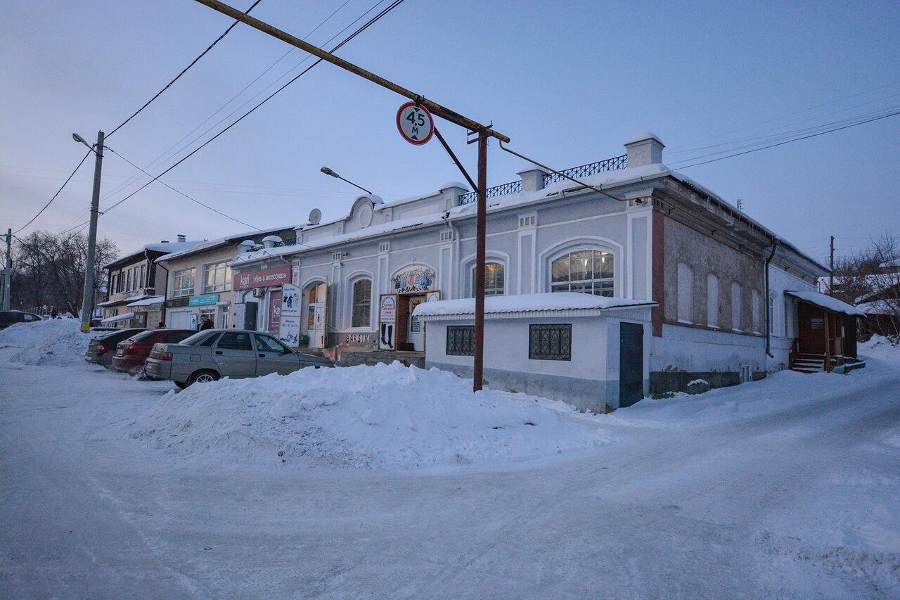 Дом купца Попова, Камышлов, Свердловская область