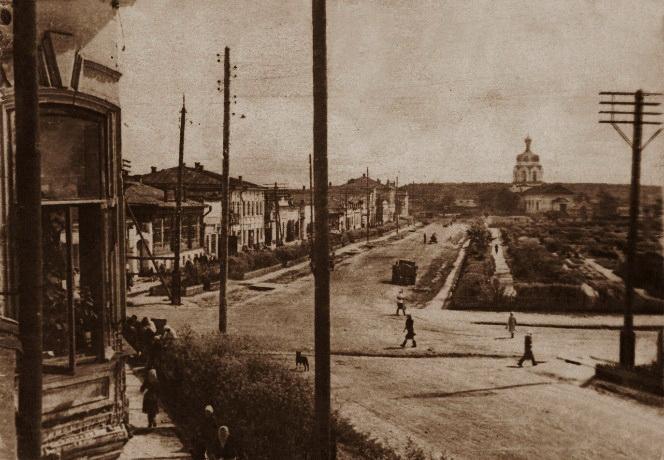 Камышлов, Нижняя базарная площадь