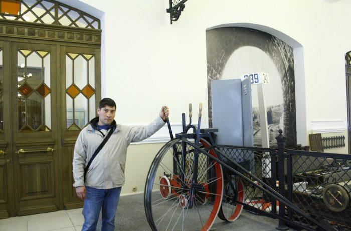 железнодорожный велосипед жандарма