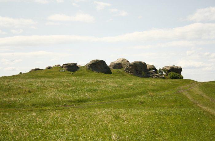 каменные палатки - Уральский природный Стоунхендж