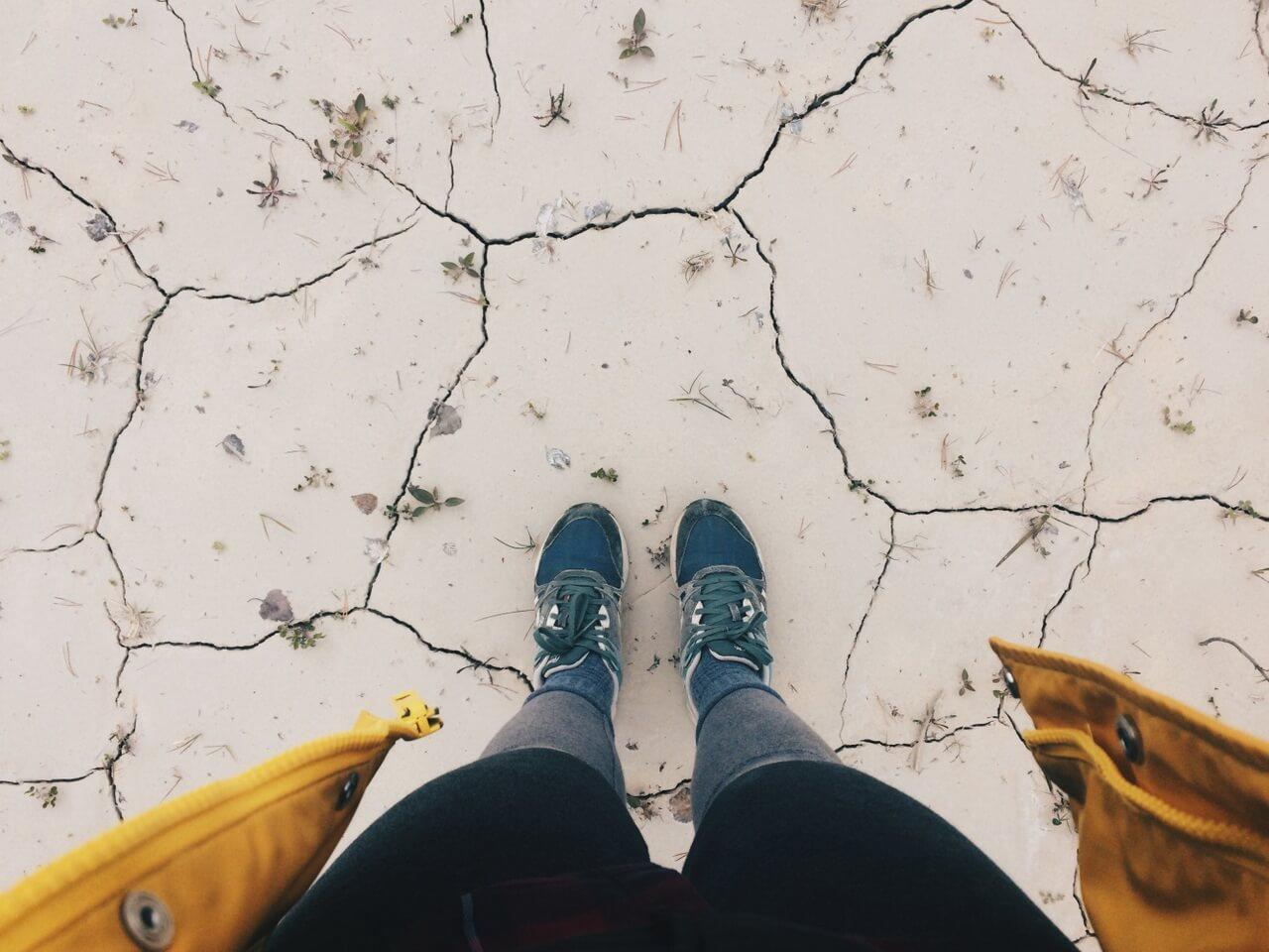 Затопленные карьеры около поселка Западная Майгашля