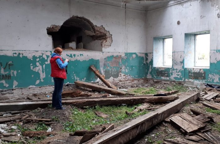 Все, что осталось от Свято-Николаевской церкви