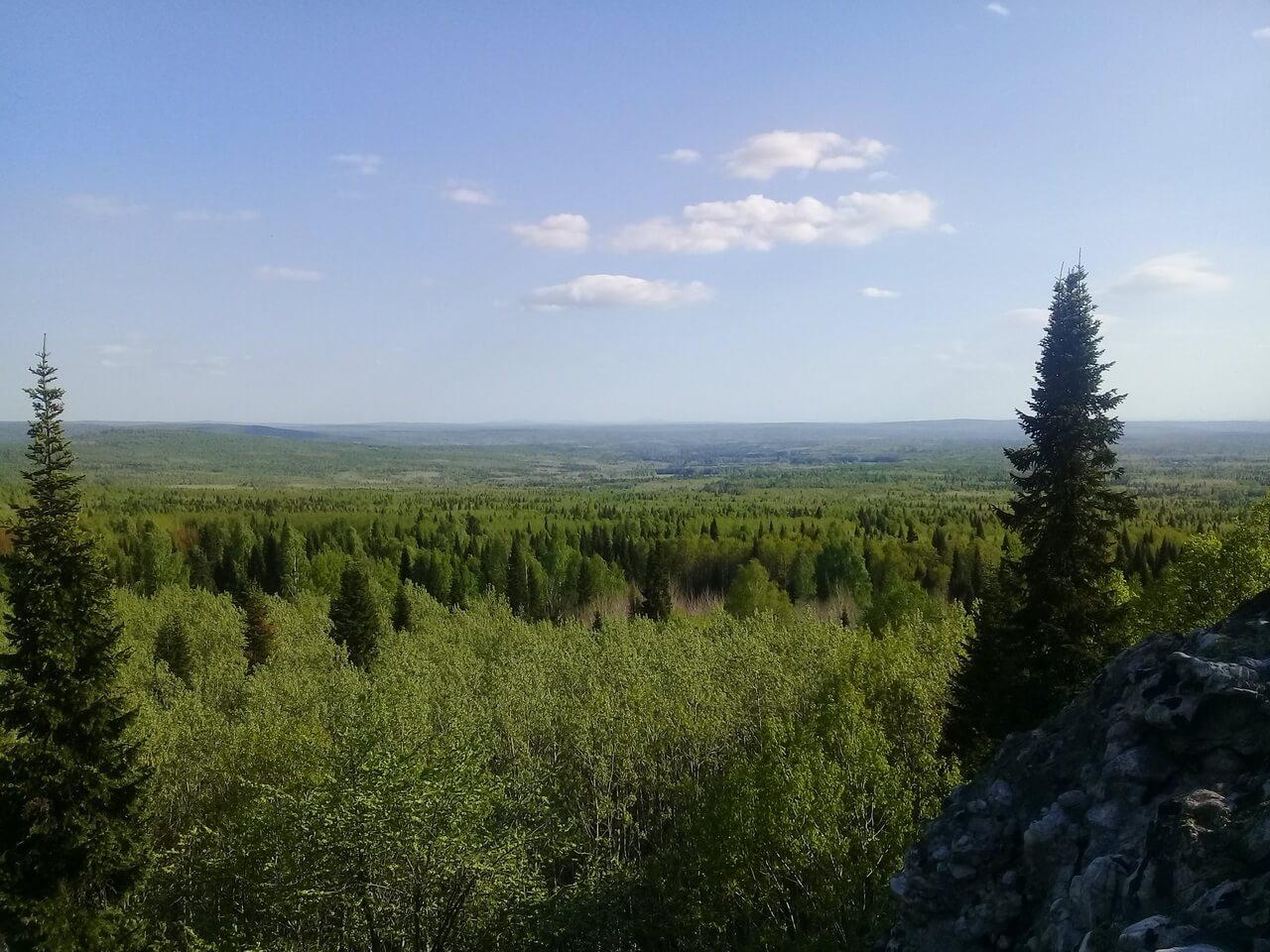 Кенчурские столбы, Свердловская область