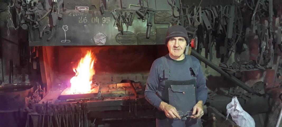 Кузнец – всем ремёслам отец: Владимир Колосов