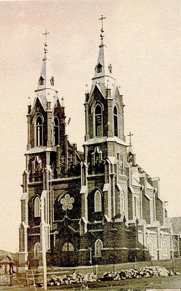 Храм во имя Непорочного Зачатия Девы Марии в Челябинске
