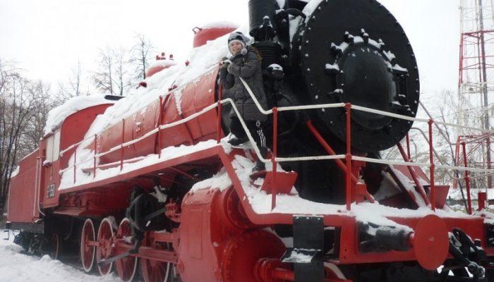 Памятники Челябинска: Паровоз «Красный коммунар»