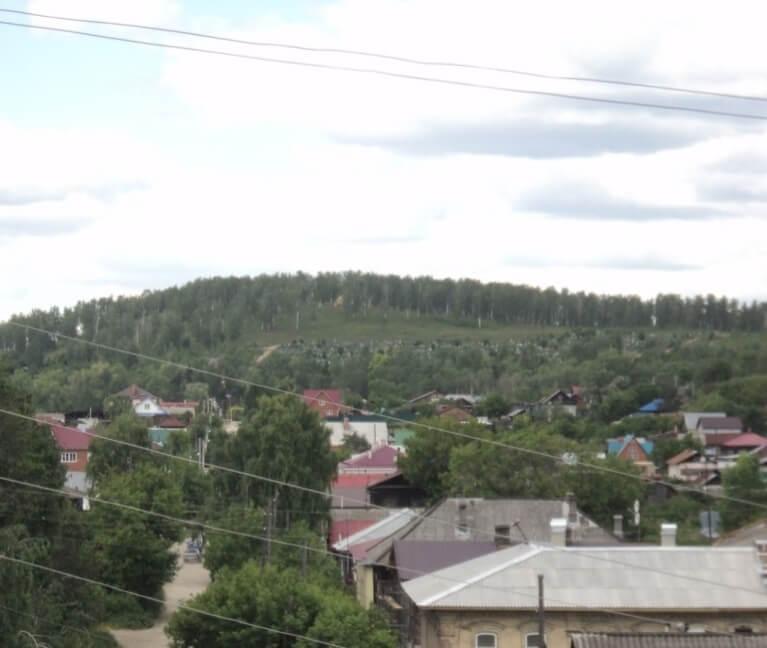 Гора Могильная, Красноуфимск