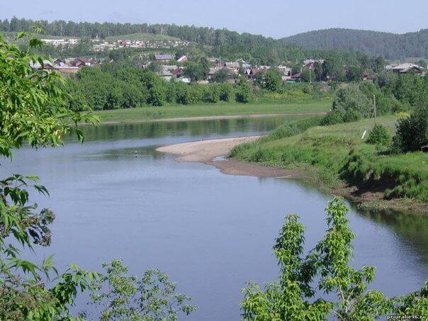 Река Уфа, Красноуфимск