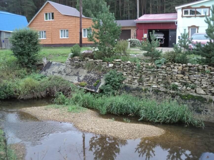 Река Сарга, Красноуфимск