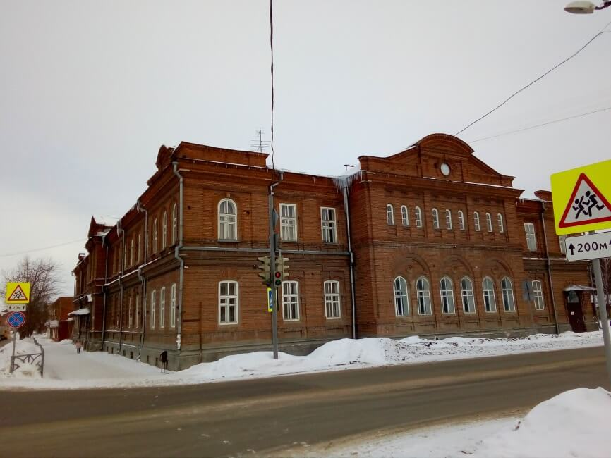 Здание Красноуфимской земской управы, Красноуфимск, Свердловская область