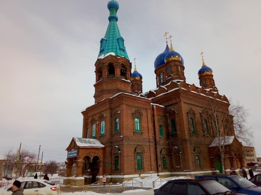 Храм Александра Невского, Красноуфимск, Свердловская область