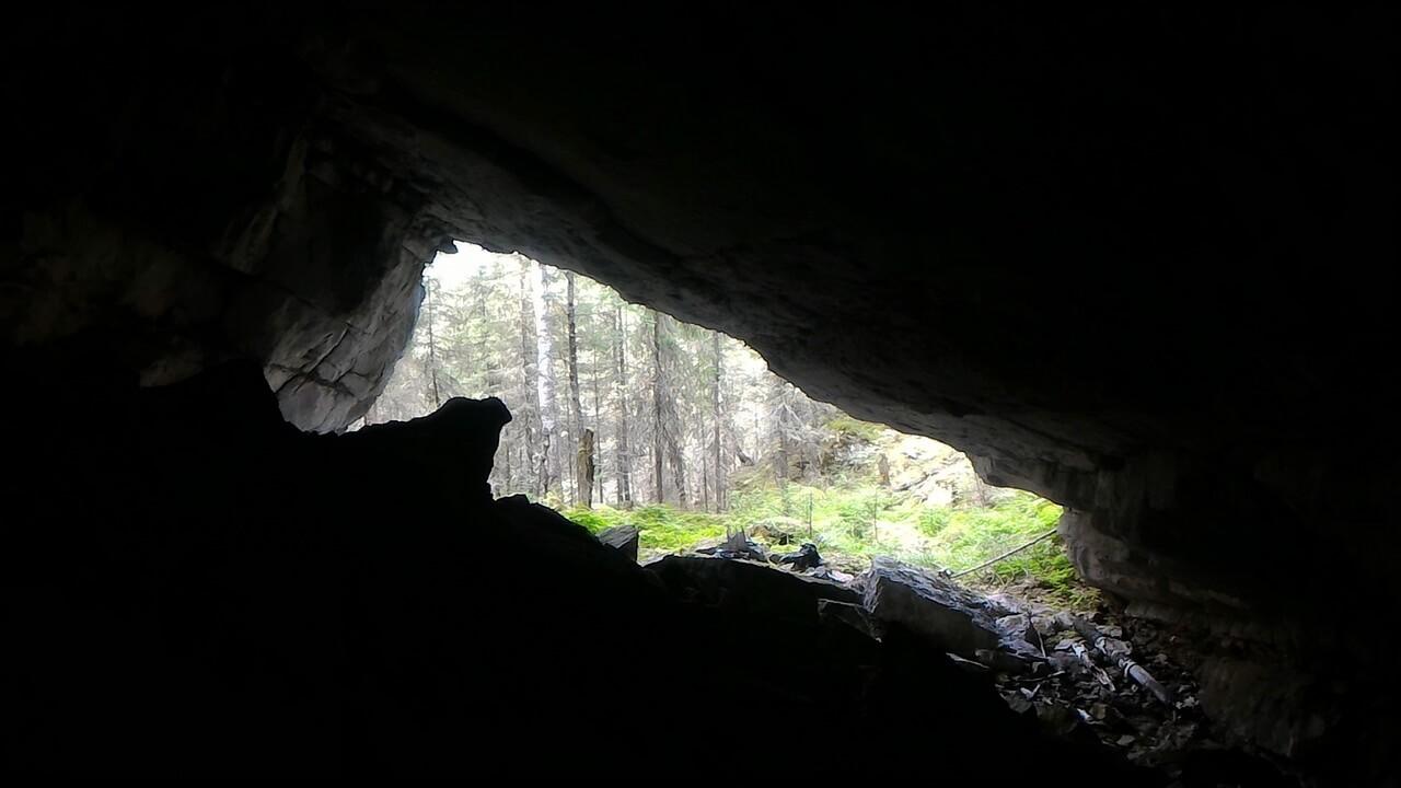 Куртымский рудник, Большая Куртымская пещера, Лысьвенский горный округ, Пермский край