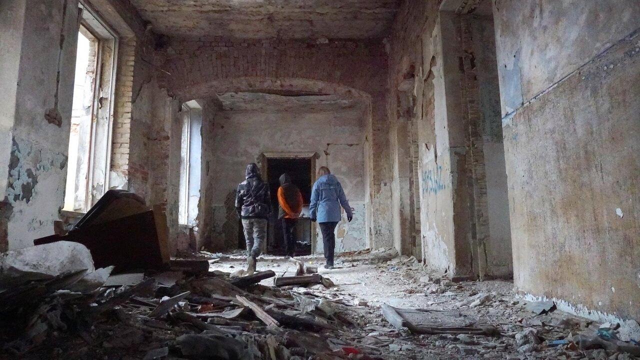 Заброшенная больница, Кушва