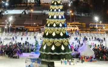 Ледовый городок в Перми