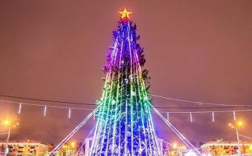 Ледовый городок, Уфа, Башкортостан