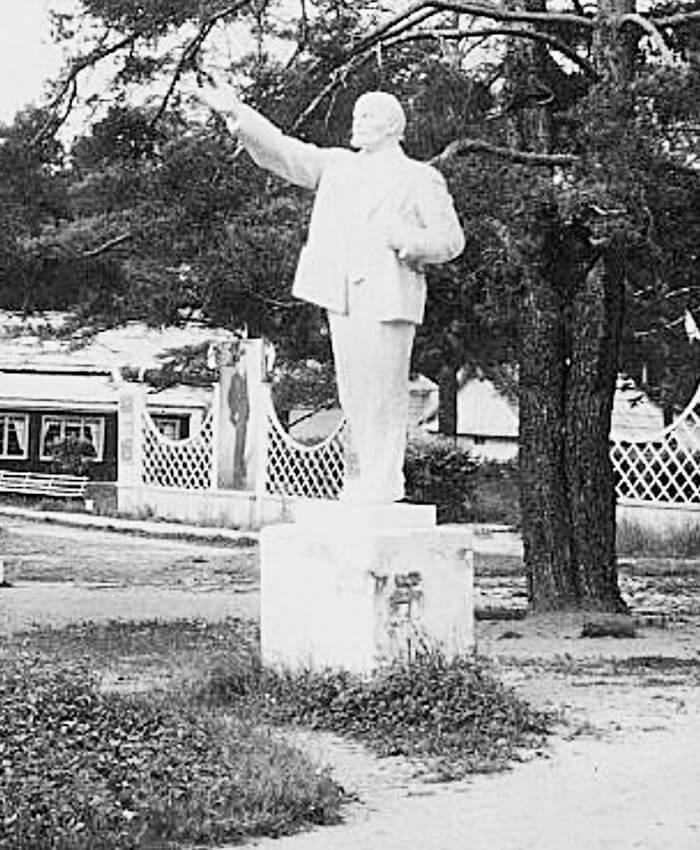 Памятник Ленину, Санаторий «Курьи», 50-е годы