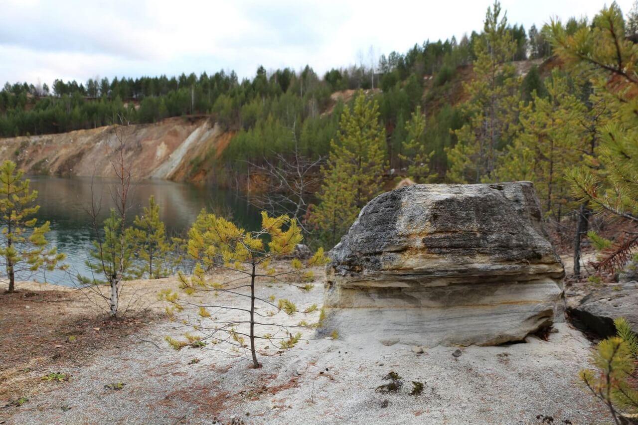 Липовский карьер, Село Липовское, Свердловская область, Осень на Урале