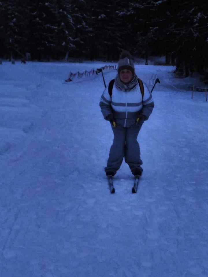 На лыжах после Нового года: село Афанасьевское