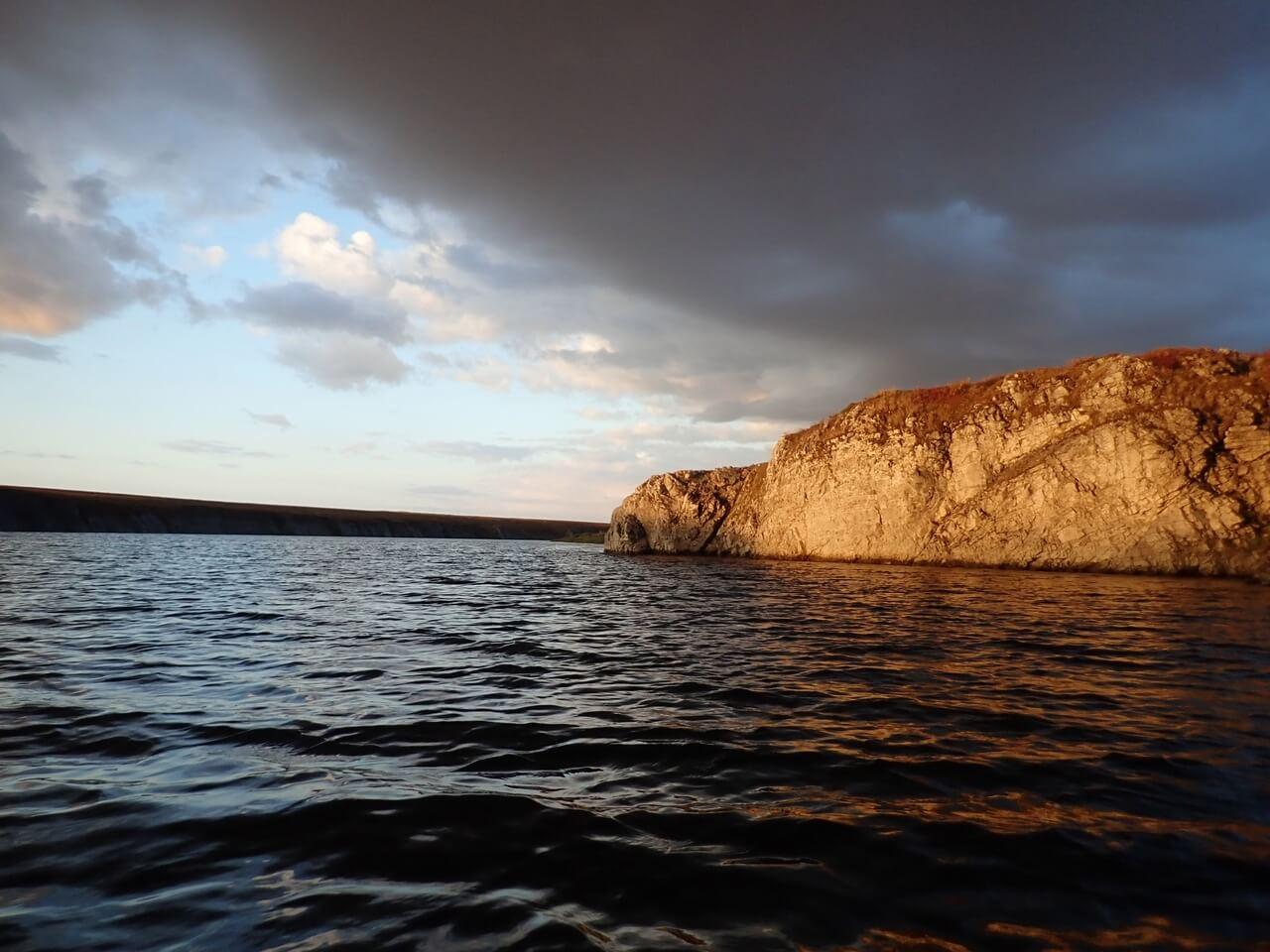 река Малая Уса и озеро Усваты