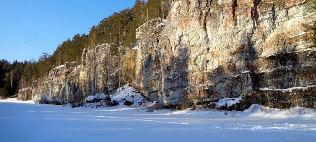 Камни реки Чусовой: Мартьяновская излучина