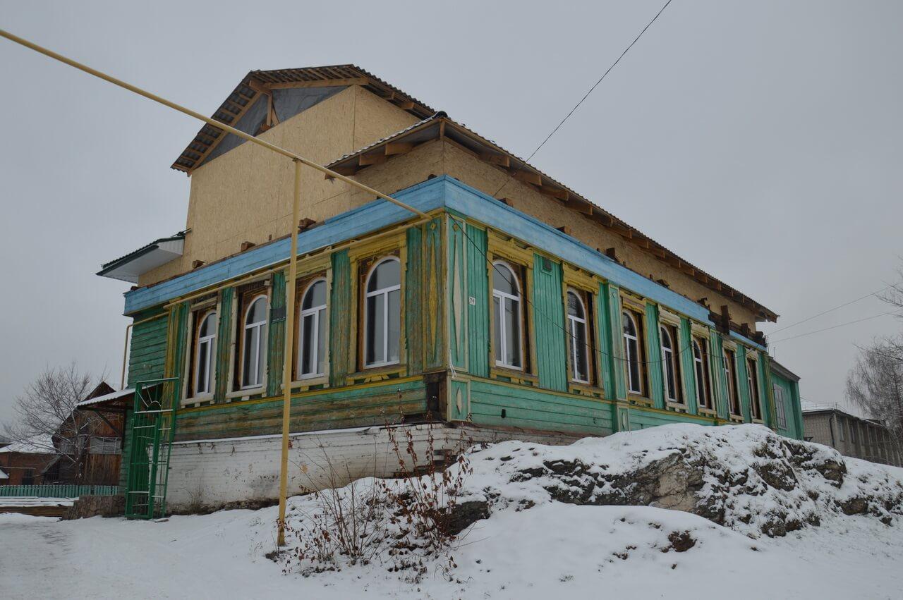 Мечеть Аль-Хафиз в Красноуфимске