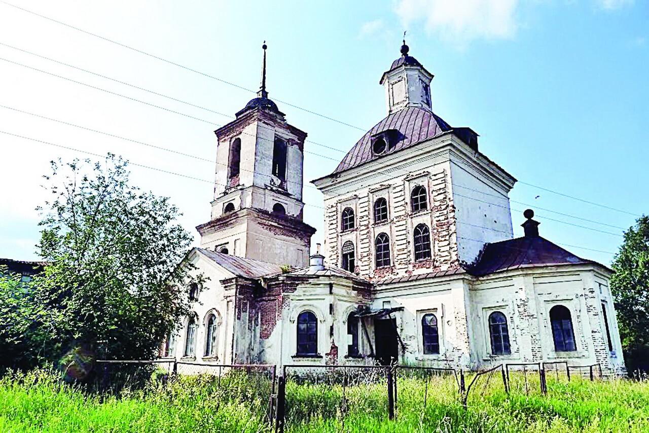 Храм Михаила Архангела, Новопышминское
