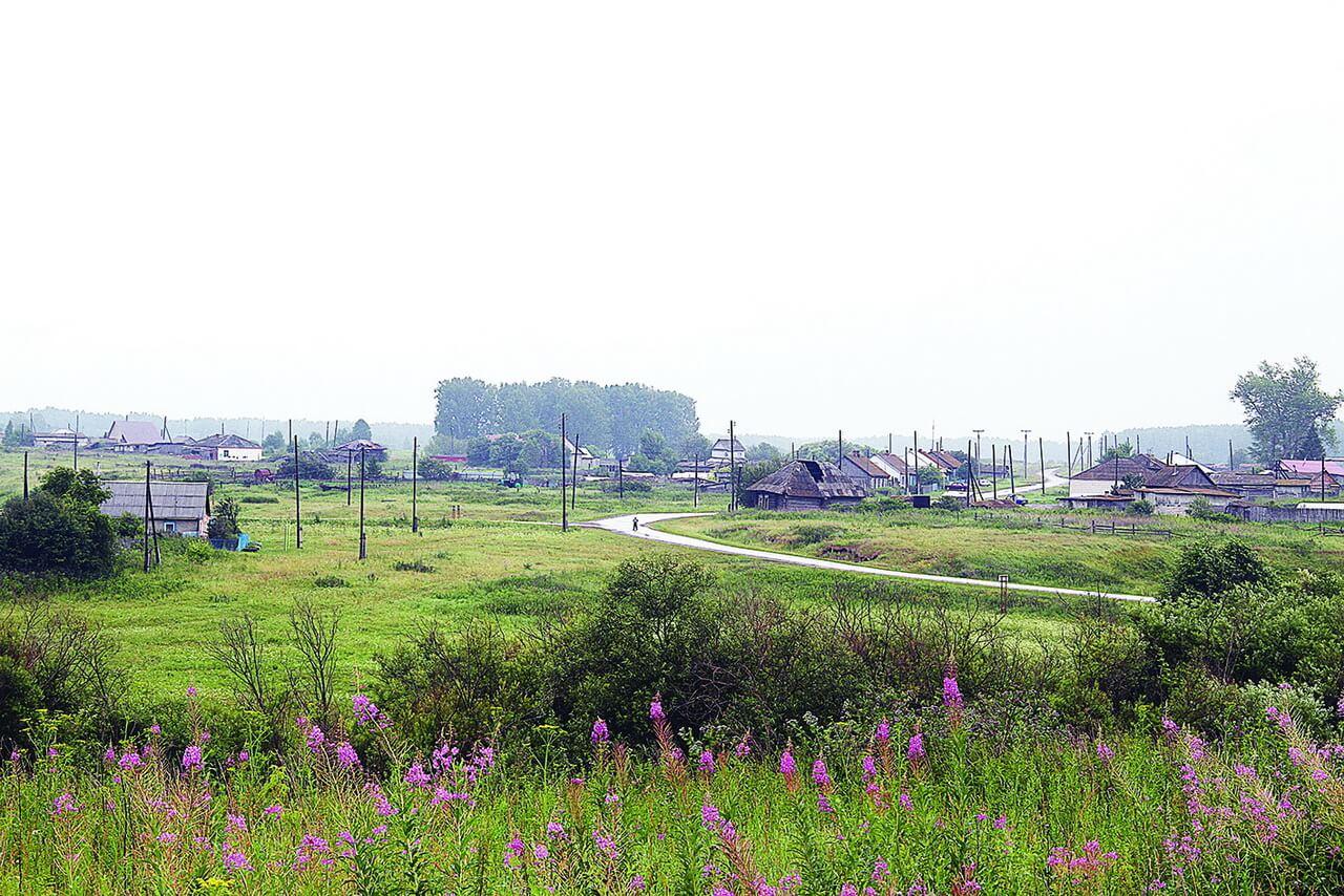 Деревня Заимка