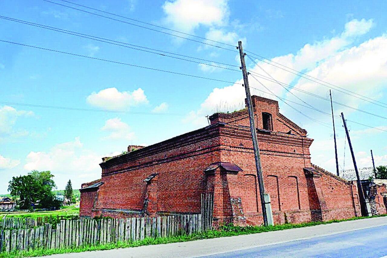 склады купца Воронцова, село Курьи