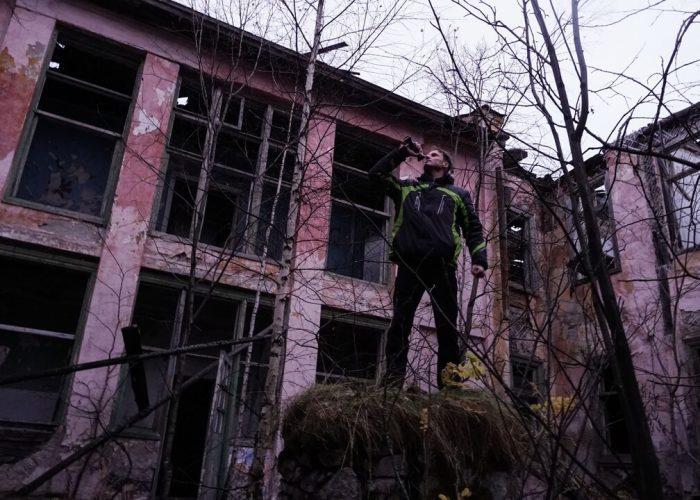 Молтаево, Свердловская область, Заброшенный санаторий