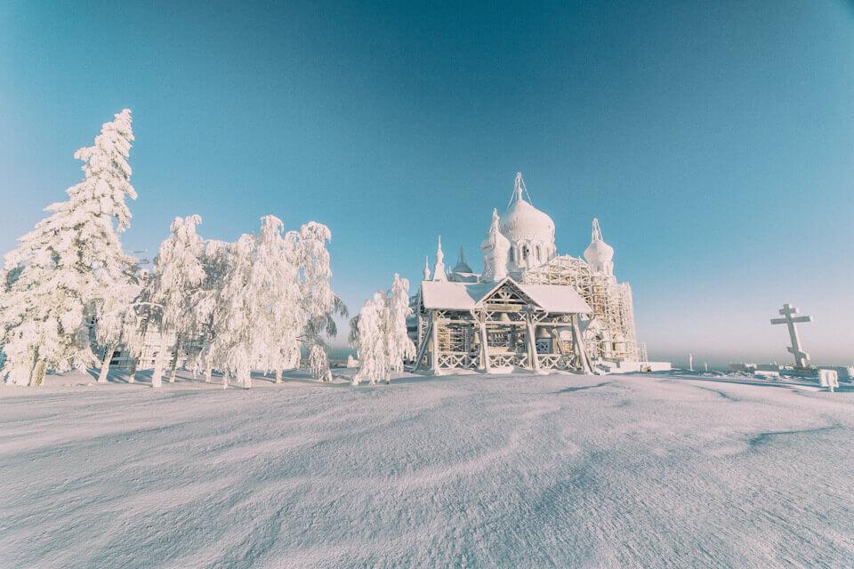 Монастырь, Белая гора, Пермский край