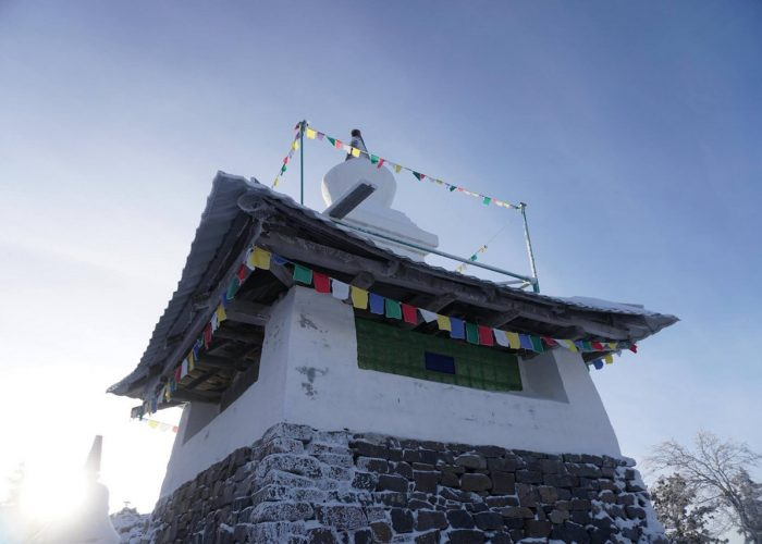 Монастырь «Шад Тчуп Линг» на горе Качканар