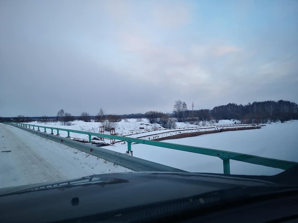 мост через р. Тура