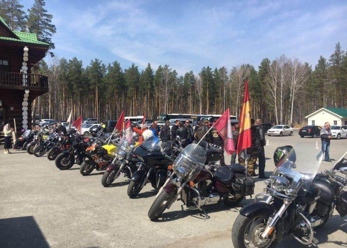 Мотопробег, посвященный памяти Николая II, состоялся в Екатеринбурге