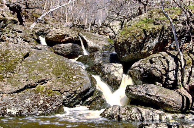 Водопад Могак.