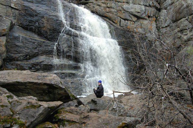 Самый большой на Южном Урале водопад Гадельша.