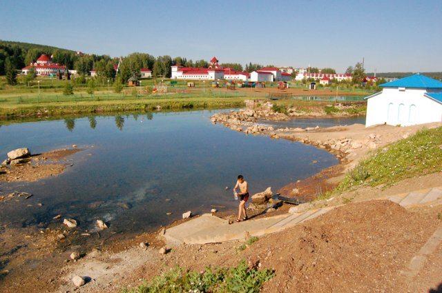 Курорт Красноусольск.