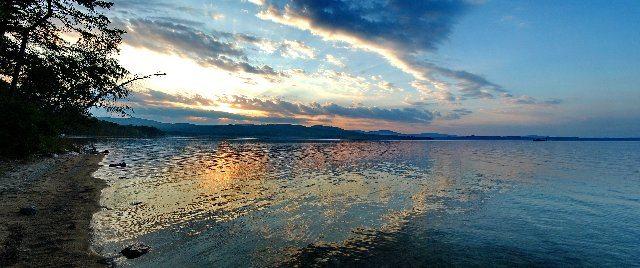 Закат на Тургояке.
