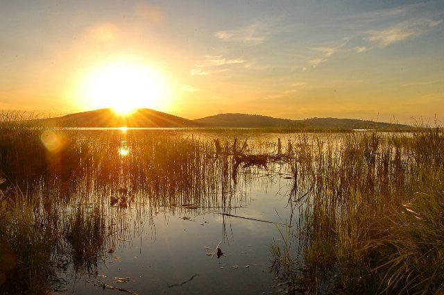 Второе по высоте на Южном Урале озеро Талкас.