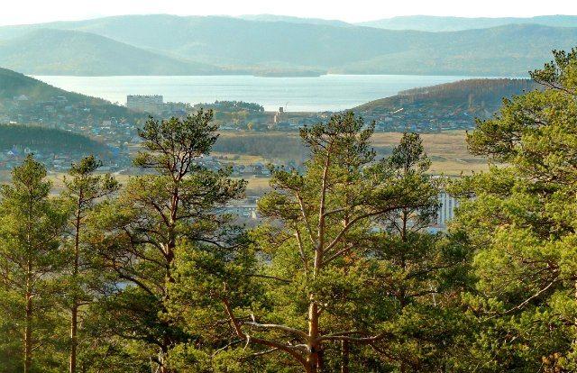 Миасс. Машгородок, поселок Тургояк и озеро.