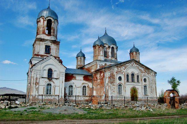 Храм в Вознесенке.
