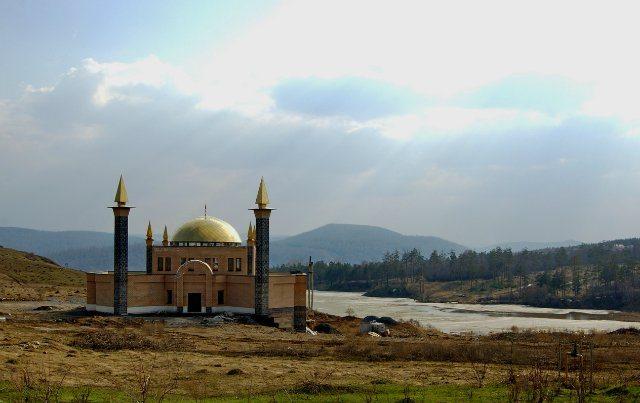 Сатка. Новая мечеть.